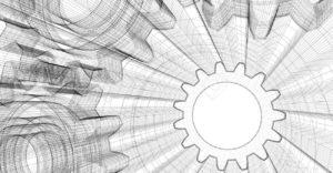 3764317-Hintergrund-Industrie-Design-3D-Wire-Frame-Abbildung--Lizenzfreie-Bilder
