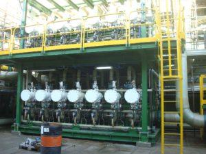 Applicazione di filtri autopulenti montati in parallelo su skid in raffineria e centrale elettrica