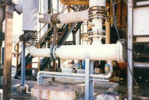 Filtro autopulente Aron in raffineria a monte di scambiatori di calore